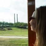 Hershey's Chocolate World bus tour in Hershey, Pennsylvania