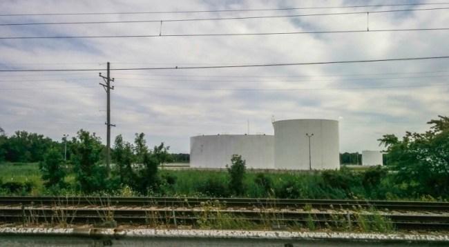 Indiana tollway, enroute to Ann Arbor, MI