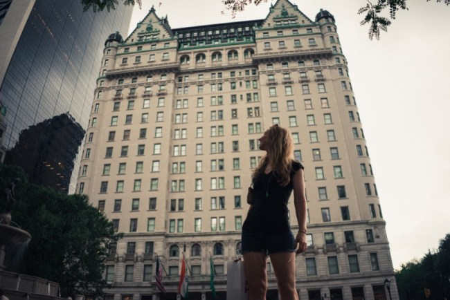 Plaza Hotel in New York City (the hotel from Home Alone 2: Lost in New York)