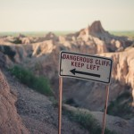 Badlands National Park hike