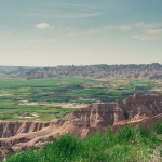 Badlands National Park scenery