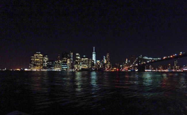 New York City Skyline at night with the GoPro HERO4 Session
