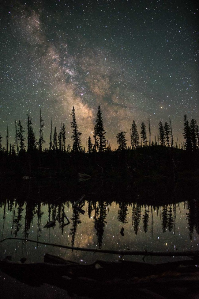 Milky Way at Grand Teton National Park by Ian Norman