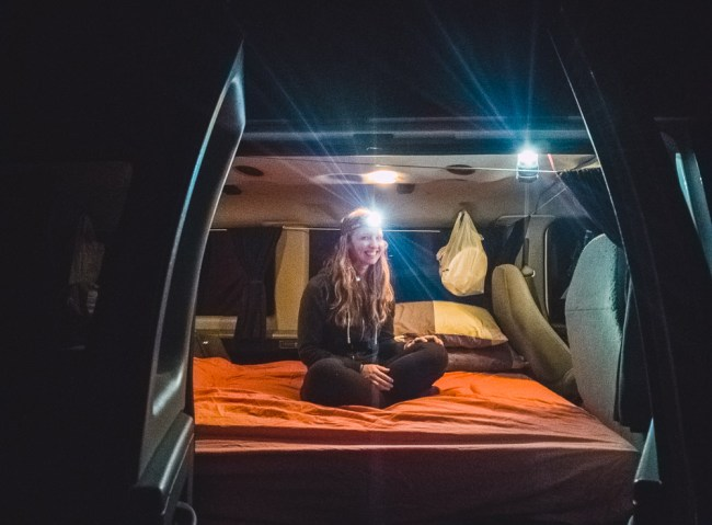 Escape Mavericks Campervan bed