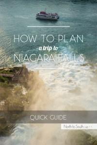 How to plan a trip to Niagara Falls, New York, USA
