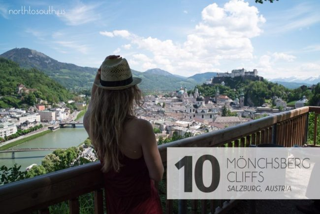 Taking the Stairs: 10 Breathtaking Viewpoints to Hike to in Europe: Mönchsberg Cliffs (Salzburg, Austria)