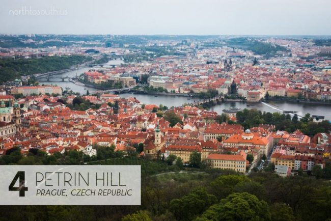 Taking the Stairs: 10 Breathtaking Viewpoints to Hike to in Europe: Petrin Hill Observation Tower (Prague, Czech Republic)