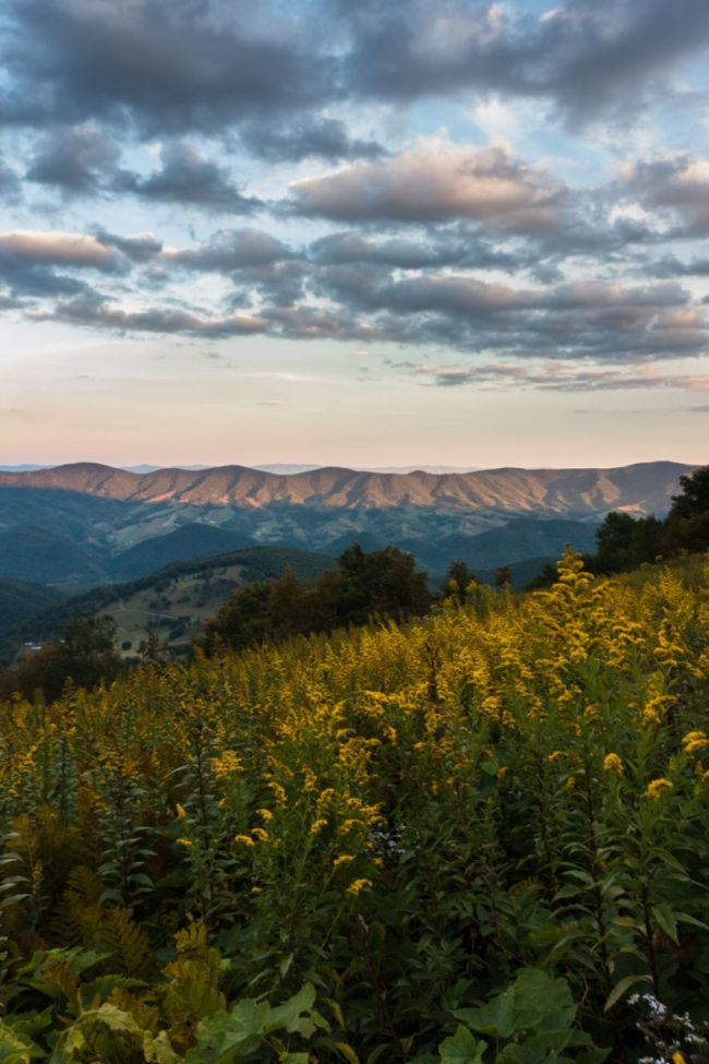 U.S. Road Trip Re-Cap: Week Nineteen -- sunset at Spruce Knob in West Virginia