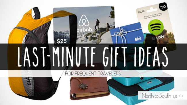 Last-Minute Gift Ideas for Frequent Travelers on North to South