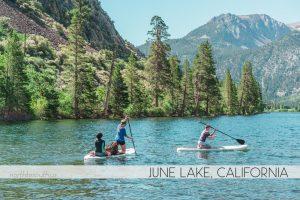 Silver Lake Campground, June Lake, California