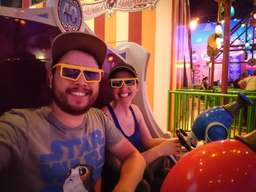 Toy Story Mania at Disney's Hollywood Studios
