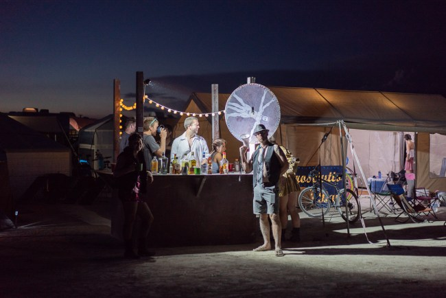 Camp Prosciutto Bay at Burning Man 2018