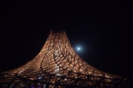Burning Man 2018 temple