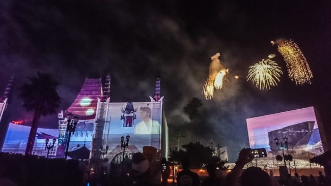 The Best and Worst Rides and Attractions at Disney's Hollywood Studios | 'A Galactic Spectacular' Star Wars fireworks show on North to South