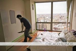 Chicago condo painting
