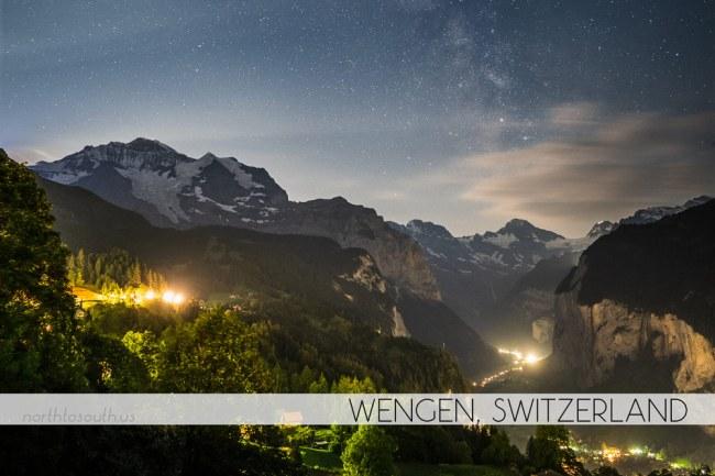 Wengen, Switzerland Milky Way