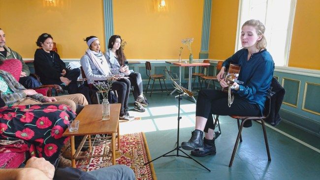 Icelandic Music and Storytelling with Hanna Mia
