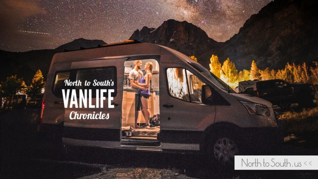 North to South's VanLife Chronicles | Adventures of Diana, Ian and Tiger in their luxury, self-converted Ford Transit campervan