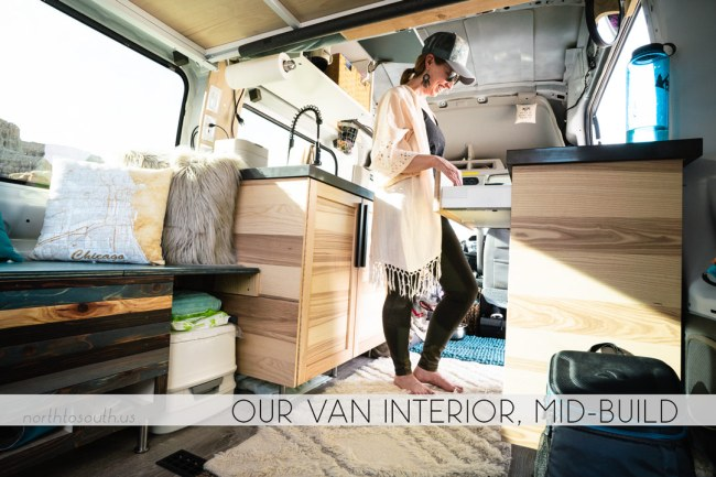 North to South's Year in Review 2019 | Our Campervan Interior