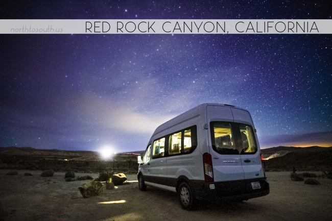 North to South's Year in Review 2019 | Camping under the stars at Red Rock Canyon, California
