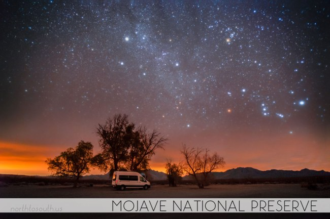 North to South's Year in Review 2019 | Mojave National Preserve Outer Milky Way
