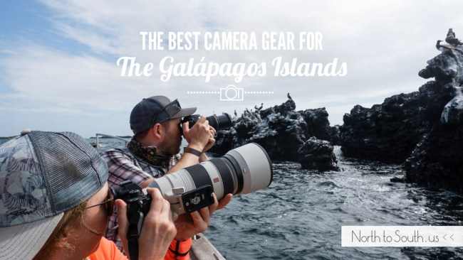 The Best Camera Gear for the Galápagos Islands