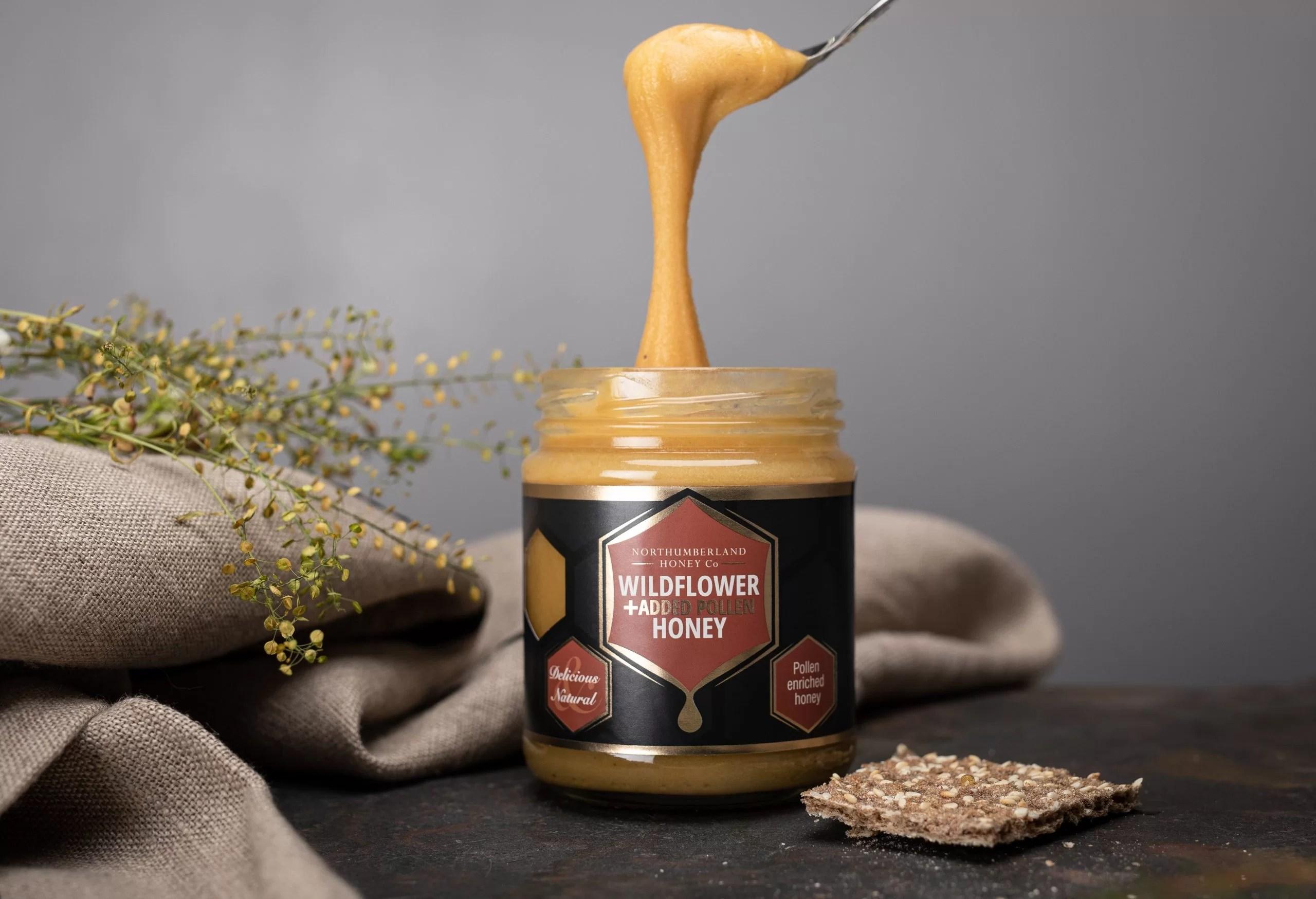 Added Pollen Honey | Benefits of Eating Honey