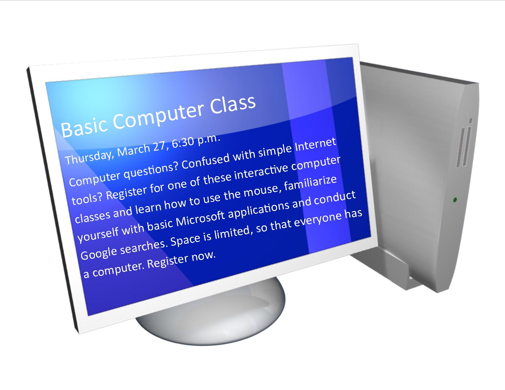 Basic Computer Class North Versailles Public Library