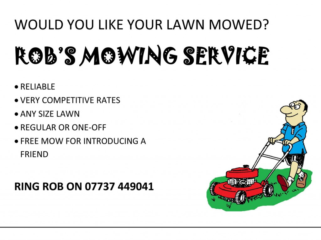 Lawn Care Service Flyer Template Quotes | Designmore