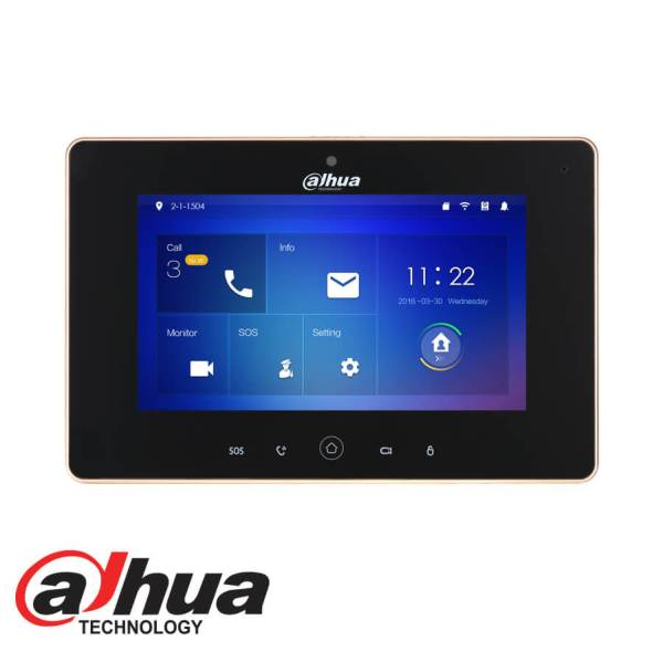DAHUA INDOOR 7_ TOUCH SCREEN LCD MONITOR WITH WIFI DHI-VTH5221D