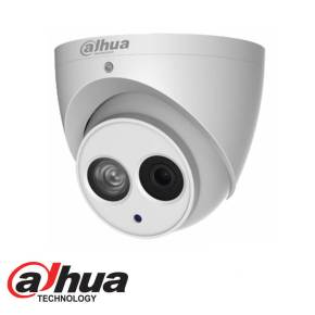 DAHUA HDCVI 4-IN-1 4MP IR EYEBALL DOME – 2.8MM FIXED LENS
