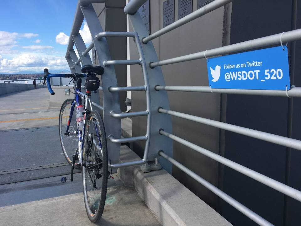 You can follow @WSDOT_520 on Twitter to get the latest info.
