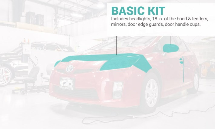 Basic Xpel Paint Protection Seattle Bellevue Lynnwood