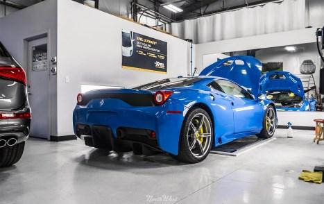 Azzurro-Dino-Ferrari-458-Speciale-XPEL-ppf-install-s