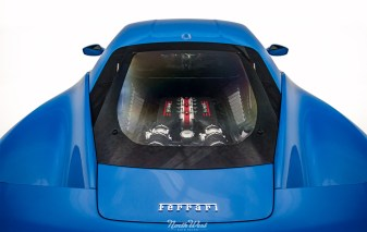 Azzurro-Dino-Ferrari-458-Speciale-XPEL-Ultimate-paint-protection-engine-bay-s