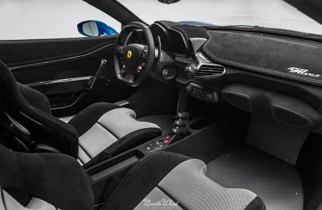 Azzurro-Dino-Ferrari-458-Speciale-XPEL-Ultimate-paint-protection-studio-interior-s-2