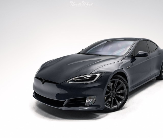 Facelifted Tesla Model S At Northwest Auto Salon
