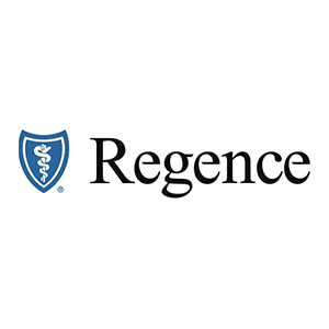 Regence Health Plan logo with link.