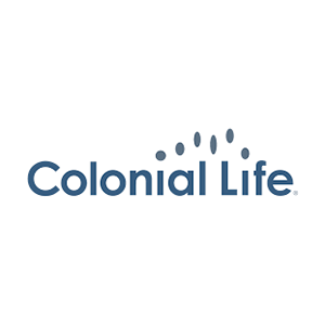 Colonial Life Insurance logo with link.