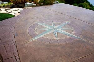 concrete patio hansville