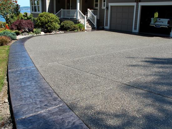 poulsbo concrete driveway