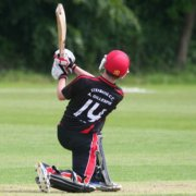 Aaron Gillespie strabane cricket club
