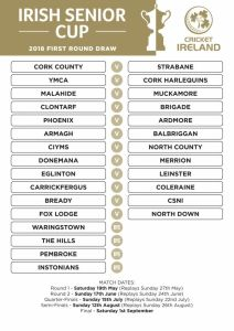 CI Senior Cup Draw 2018