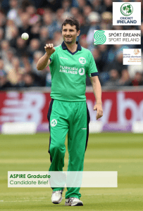 Sport Ireland Aspire Grad Program Cricket