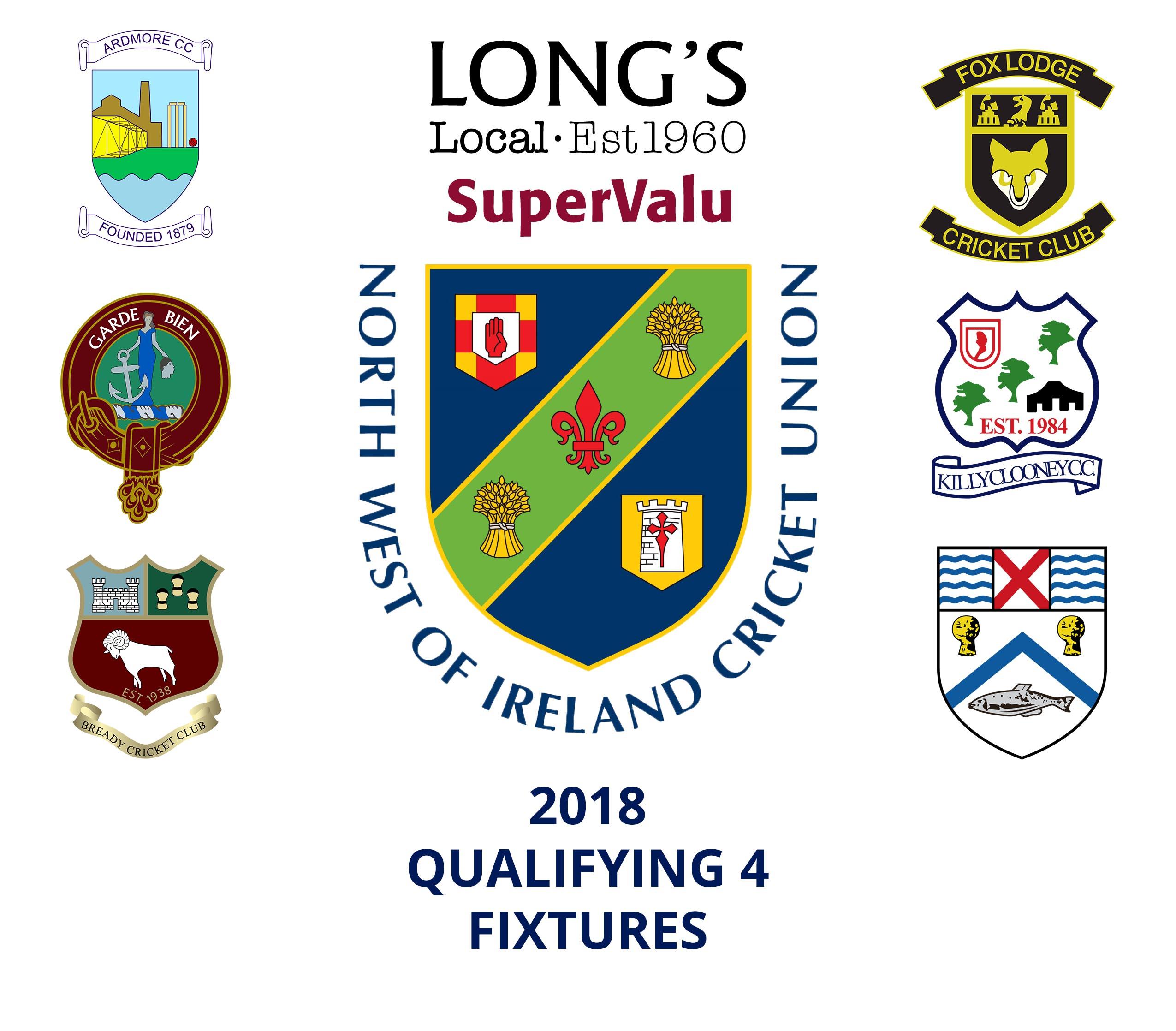 2018 Fixtures Qualifying 4