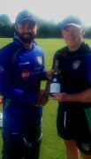 NW Senior Cup Player of the round stuart Thompson