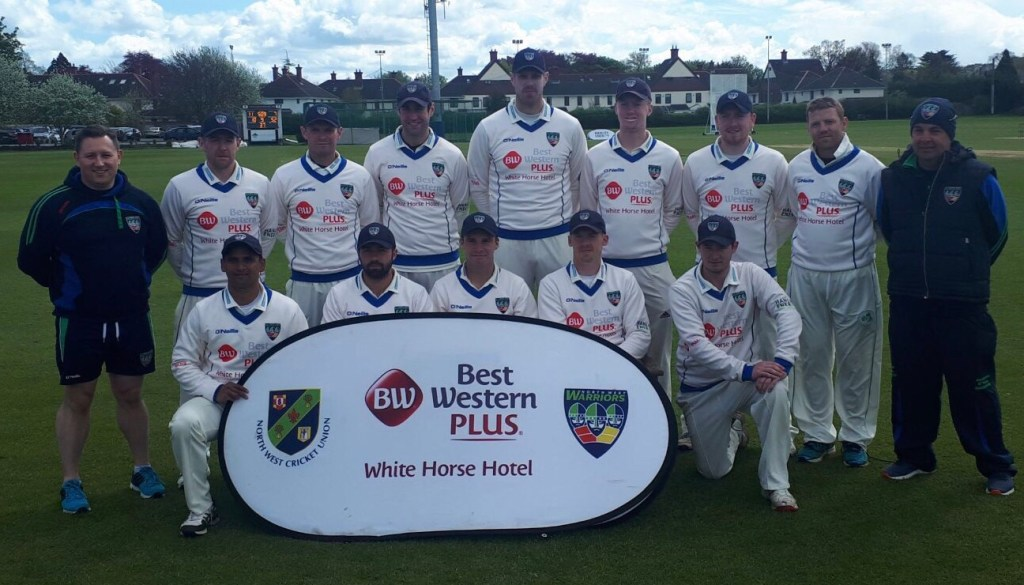 North West Warriors on Day two of the Hamley energy IPC against leinster lightning
