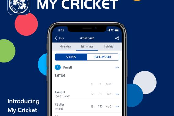 My Cricket Ireland App