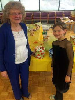 Edith and Eva After Announcing the Winners of Each Prize