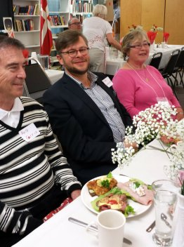 Danish Opera Singer, David Danholt, at NWDA Onsdagsklubben Luncheon